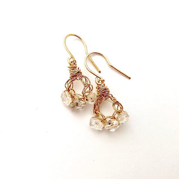 Herkimer Crochet Earrings