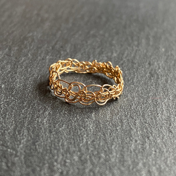 Crocheted Ring