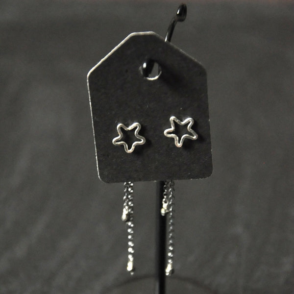 Shooting Star Stud Earrings by Izabela Motyl