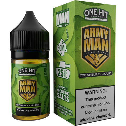 Army Man Hi-Nic Salt E-Liquid 30mL