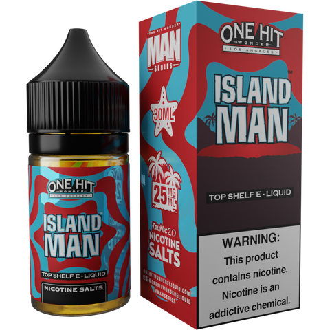 Island Man Hi-Nic Salt E-Liquid 30mL