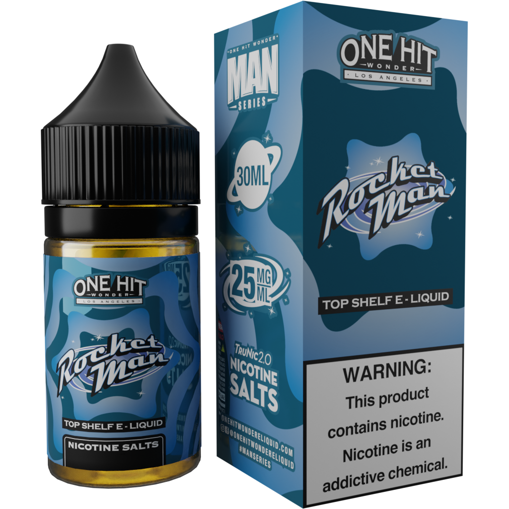 Rocket Man Hi-Nic Salt E-Liquid 30mL