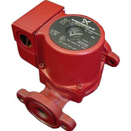 Pump, Grundfos Brute Circ 1/25 HP, 3-speed