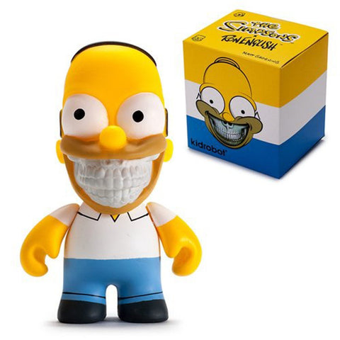 The Simpsons Bart Grin Ron English 3-Inch Vinyl Mini-Figure