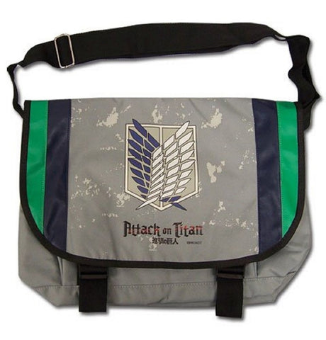 "Attack On Titan Scout Regiment Messenger Bag 17""x14"", Bags, GE Entertainment - Anime Monster"