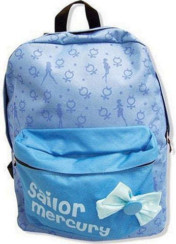 Sailor Moon: Sailor Mercury Pattern Backpack, Belts, GE Entertainment - Anime Monster