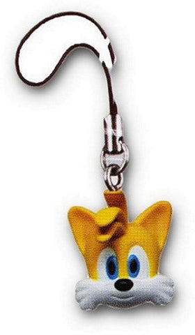 Sonic the Hedgehog Head Danglers-Tails, Charms, Takara TOMY - Anime Monster