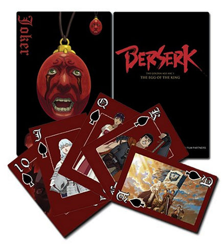 Berserk Playing Cards, Playing Cards, GE Entertainment - Anime Monster
