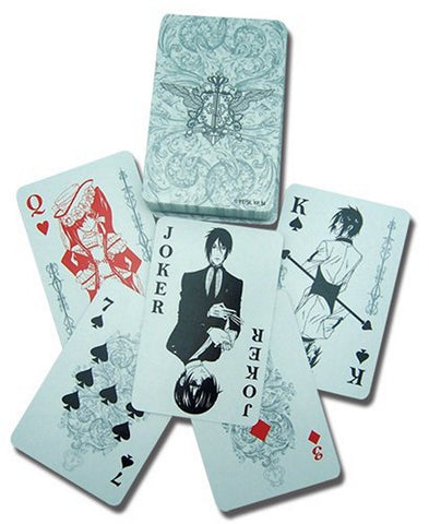 Black Butler: Playing Cards, Playing Cards, GE Entertainment - Anime Monster