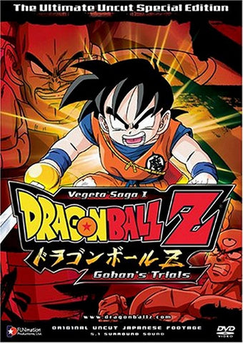 Dragon Ball Z: Vegeta Saga 1 - Gohans Trials Vol. 4 DVD 2005 Eric Vale, DVD's, Funimation - Anime Monster