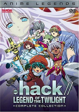 .hack//Legend of the Twilight-Anime Legends Complete Collection DVD 2006, DVD's, BANDAI - Anime Monster