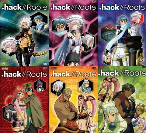 .hack//Roots-Complete Collection, DVD's, BANDAI - Anime Monster