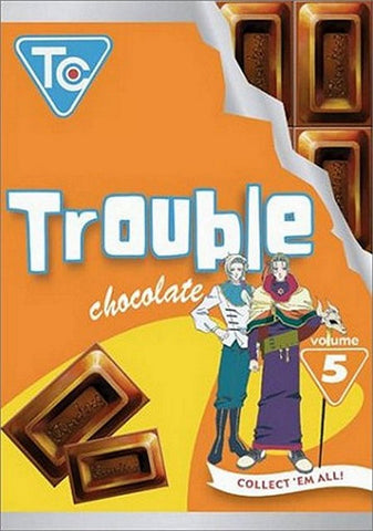 Trouble Chocolate Vol. 5 DVD 2003 Artist Not Provided, DVD's, VIZ Media - Anime Monster