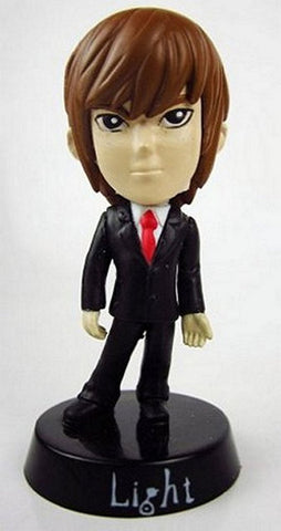 "Death Note Mini Bobble Head Plastic Figure-3"" Light, Mini Figures, Death Note - Anime Monster"