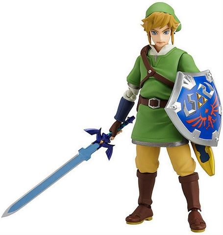 "The Legend of Zelda: Skyward Sword Link Figma Action Figure Aprox 5"", Figures, Good Smile Company - Anime Monster"