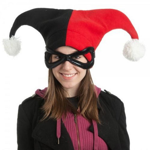 Batman Harley Quinn Character Hat One Size fits Most Adults Cotton, Hats, Bioworld - Anime Monster