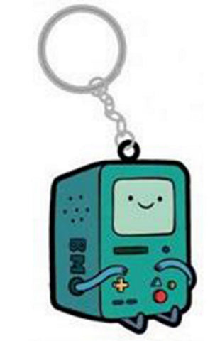 "Adventure Time Rubber Keychain Beemo BMO 2"" PVC Keychain, Keychains, Hot Properties - Anime Monster"