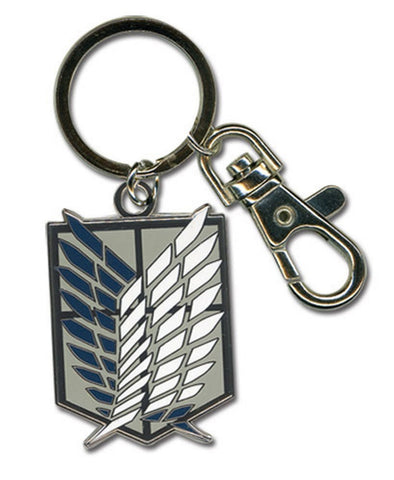 "Attack On Titan Scouting Legion Emblem Keychain 3"" Metal Keychain, Keychains, GE Entertainment - Anime Monster"