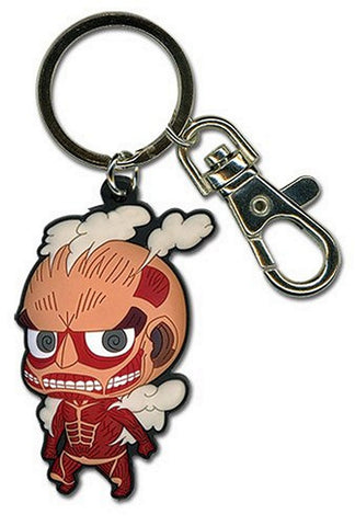 "Attack on Titan Keychain- Titan Keychain PVC 4"" Total Length, Keychains, GE Entertainment - Anime Monster"