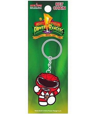 "20th Anniversary Power Rangers Keychain - Red Ranger 2"", Keychains, Hot Properties - Anime Monster"