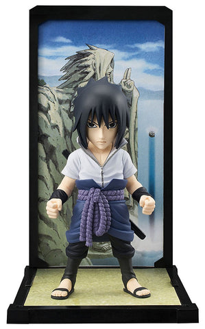 "Bandai Buddies Sasuke Uchiha ""Naruto Shippuden"" Action Figure, Mini Figures, BANDAI - Anime Monster"