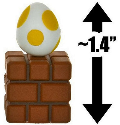 "New Super Mario Choco Series #1 Mini Figure-1.4"" Egg Yellow & Brick, Mini Figures, Furuta - Anime Monster"