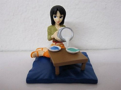 One Piece Gashapon Dioramaworld Part 3-Nico Robin, Mini Figures, BANDAI - Anime Monster