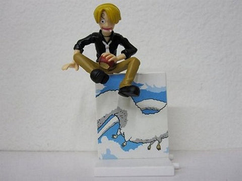 One Piece Gashapon Dioramaworld Part 3-Sanji, Mini Figures, BANDAI - Anime Monster