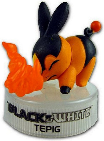 "Pokemon Black & White Trading Card Figure PVC-2"" Tepig, Mini Figures, Pokemon - Anime Monster"