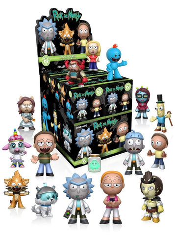 Funko Mystery Mini Rick and Morty Series 1 One Mystery Action Figure, Funko Pop, FunKo - Anime Monster