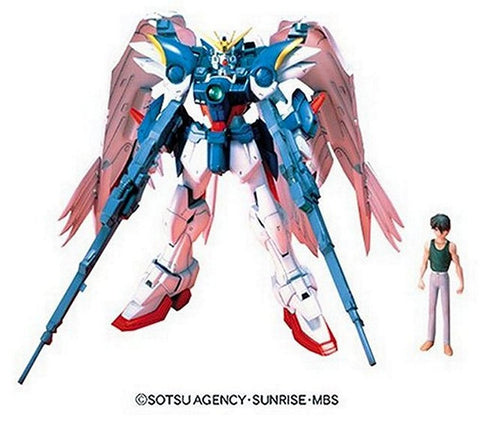 Bandai EW-02 1/100 High Grade Endless Waltz Wing Gundam Zero Custom Model Kit, Model Kits, BANDAI - Anime Monster