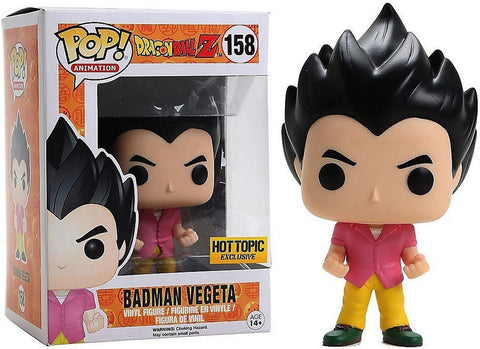 Animation Dragonball Z Badman Vegeta #158 (Hot Topic Exclusive), Figures, Funko - Anime Monster