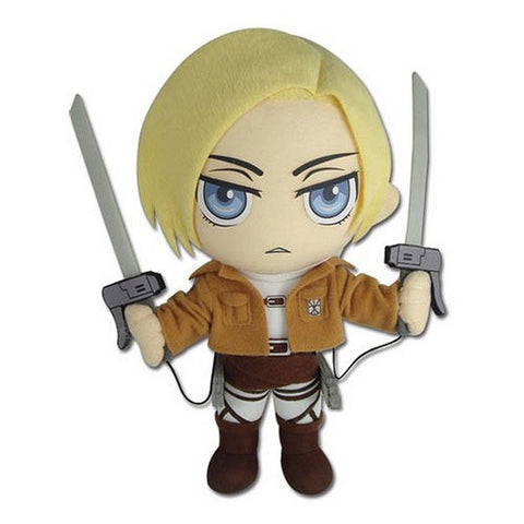"Great Eastern Attack on Titan 10"" Annie Leonhart Plush, Plush, GE Entertainment - Anime Monster"