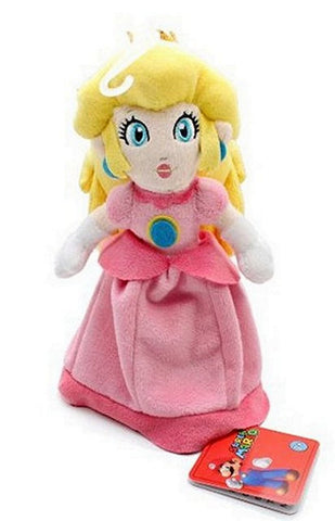 "Mario Global Holdings Super Mario Plush-8"" Princess Peach, Plush, Global Holdings - Anime Monster"
