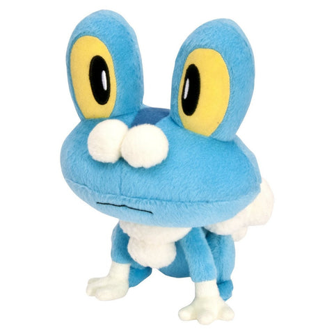 "Pokemon XY Starters 6"" Stuffed Plush Doll UFO Banpresto - Froakie (48628), Plush, Banpresto - Anime Monster"