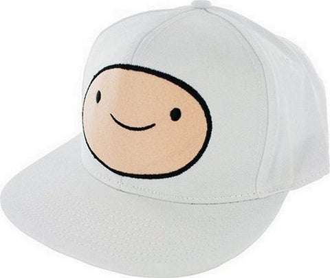 Adventure Time Finn Face Snapback Adjustable Baseball Cap Fits Most, Hats, Bioworld - Anime Monster
