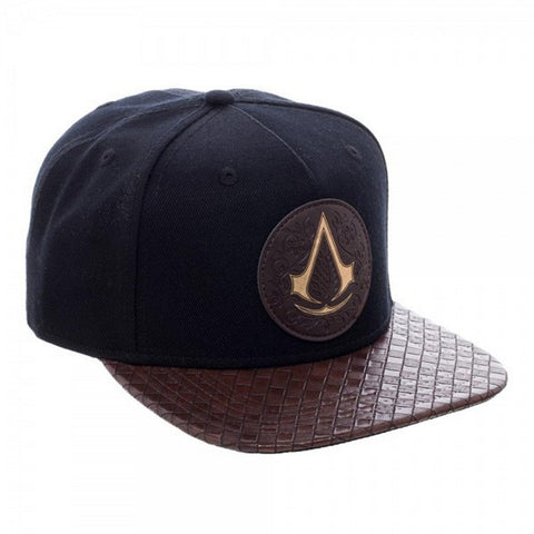 Assassins Creed Movie Logo Men's PU Bill Snapback Hat, Hats, Bioworld - Anime Monster