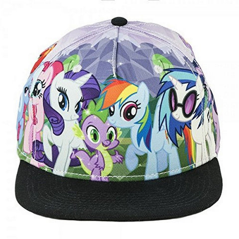 Baseball Cap - My Little Pony - Sublimated Snapback New Hat Licensed, Hats, Bioworld - Anime Monster