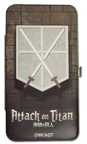 "Attack On Titan Trainees Squad Trainee Wallet 4""x7"" Shield Wallet, Wallets, GE Entertainment - Anime Monster"