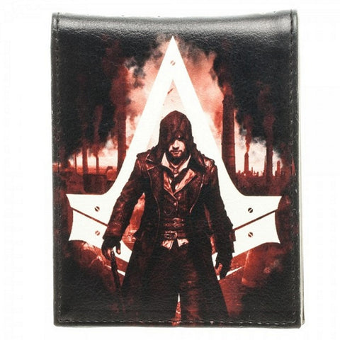 Bioworld Official Assassins Creed Syndicate- Bifold Wallet- Faux Leather, Wallets, Bioworld - Anime Monster