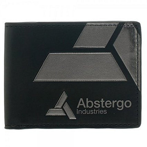 "Assassin's Creed Unity Abstergo Black Bi-Fold Wallet 4.5"" x 3.5"" Folded, Wallets, Bioworld - Anime Monster"