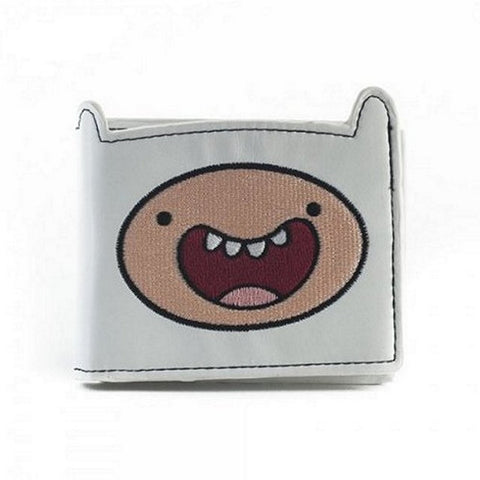 Adventure Time Finn Bi-fold Wallet, Wallets, Bioworld - Anime Monster