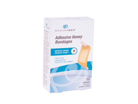 Adhesive Honey Bandages