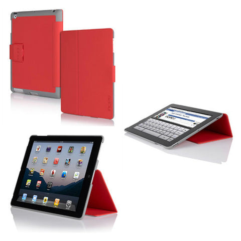 Lexington for iPad 3 - Red/Grey