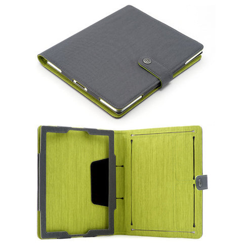 Booqpad for iPad 3 - Gray/Green