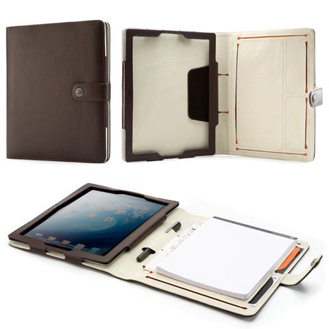 Booqpad for iPad 3 - Coffee/Cream