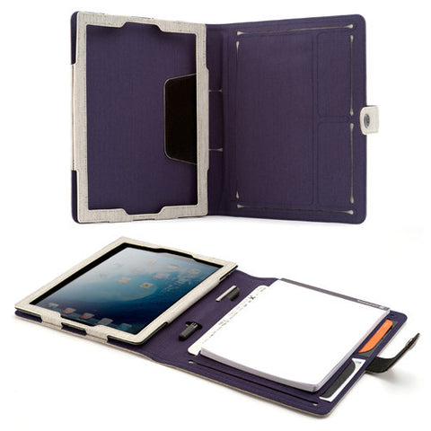 Booqpad for iPad 3 - Sand/Plum