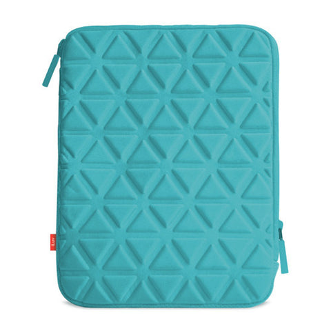 Belgique Foam padded sleeve for iPad- Teal