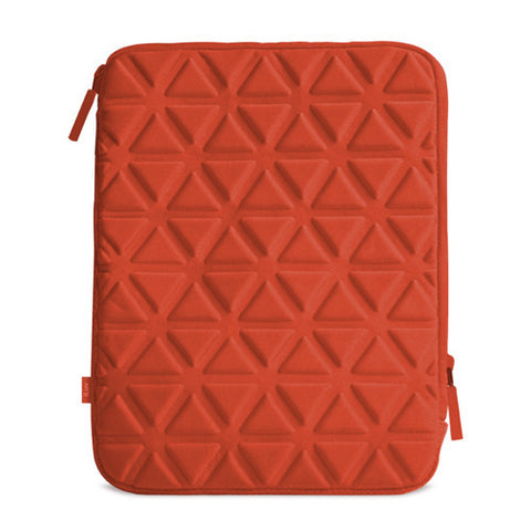 Belgique Foam padded sleeve for iPad- Red