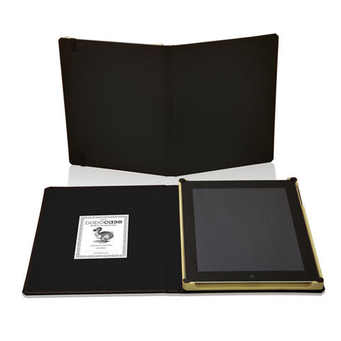 DODOCases Classic Black for iPad 2/3 (Charcoal Interior)
